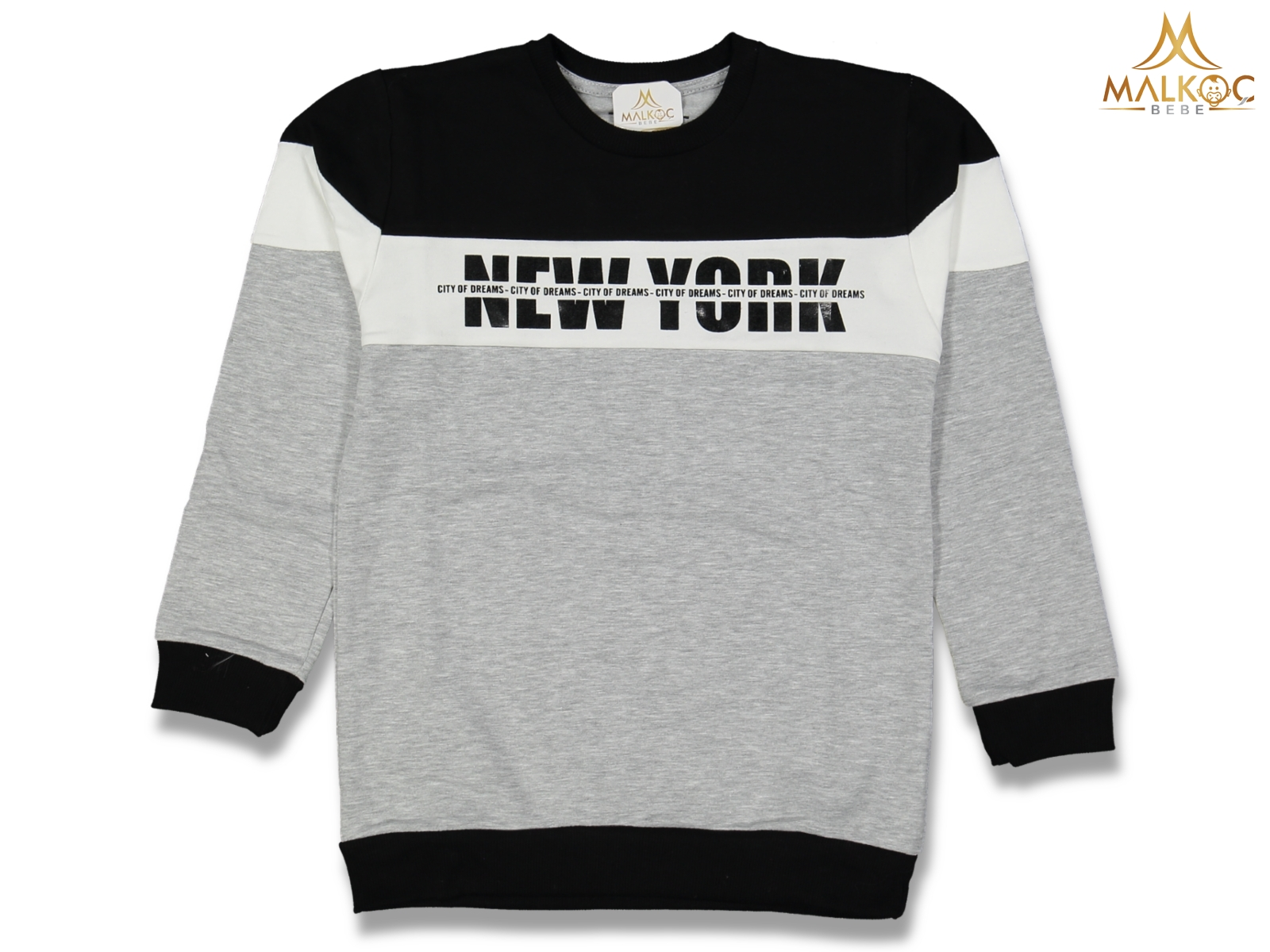 ERKEK 5/8YAŞ NEW YORK BASKILI SWEAT