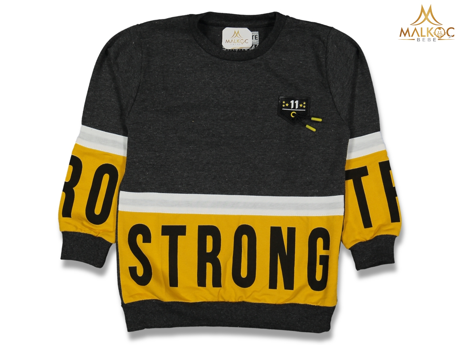ERKEK 1/4 YAŞ 2İP STRONG BASKI SWEAT
