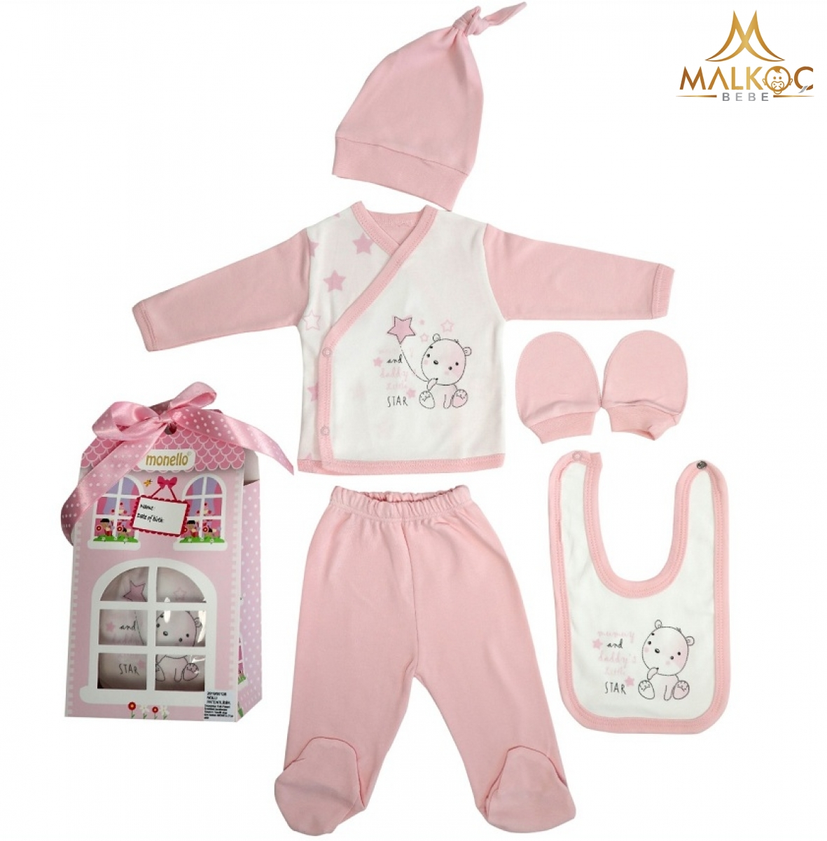 BEBE 5 Lİ PATTİSERİ 2 Lİ ZIBIN SET