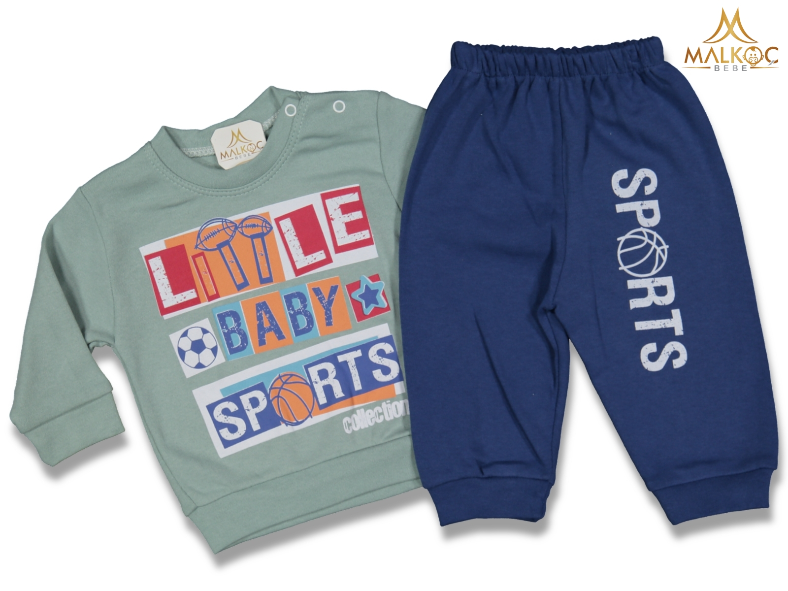 ERKEK 9/18 AY LİTTLE BABY SPORTS 2 Lİ TAK