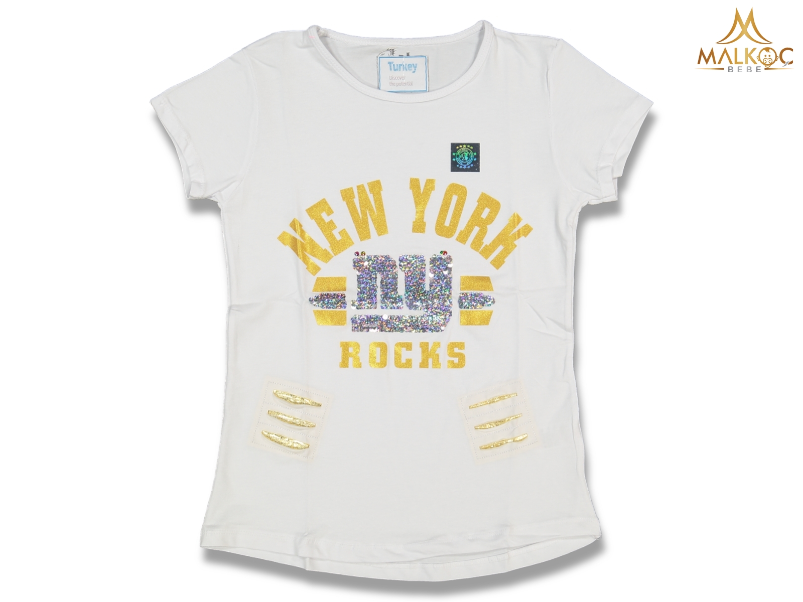 KIZ 3/7 YAŞ NEW YORK ROCK PULLU BADY