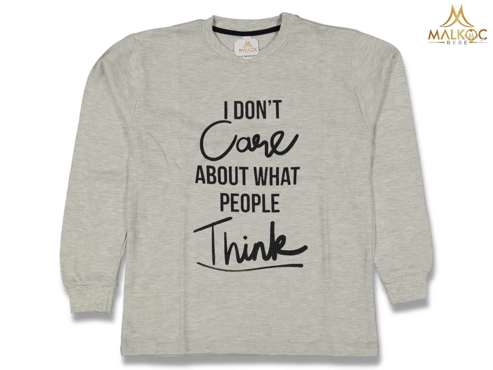 ERKEK 9/12YAŞ I DON'T CARE SELANİK SWEAT