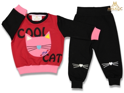 KIZ 6/24 AY COOL CAT 2 Lİ TAKIM