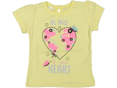 KIZ 6/18 AY BE NICE HEART BADİ