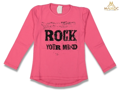 KIZ 9/12 YAŞ ROCK YOUR MİND BASKILI BADİ