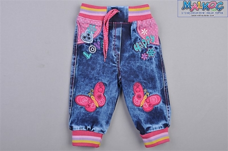 KIZ 1/4Y.LOVE HAPPY KOT PANTALON