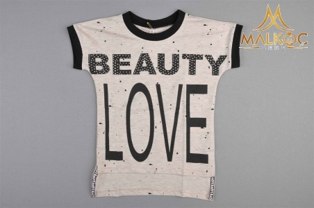 KIZ 5/8 YAŞ BEAUTY LOVE BEAUTY LOVE BASKI BADİ
