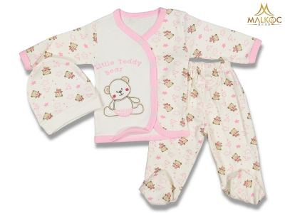 BEBE 0/6 AY LİTTLE BEAR ZIBIN SET