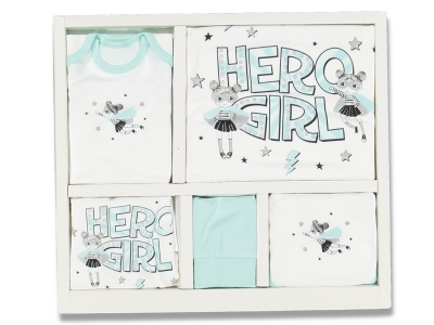 BEBE 10 LU HERO GIRL ZIBIN SET