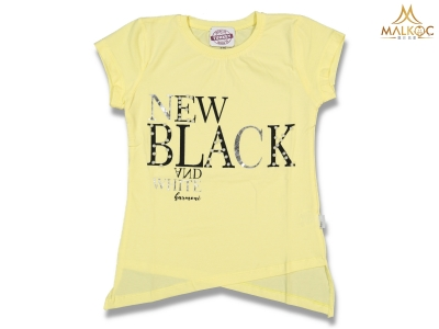 KIZ 9/12 YAŞ NEW BLACK İNCİLİ BADY