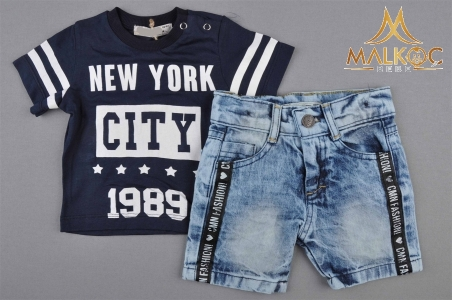 ERKEK 6/18AY NEW YORK CİTY 2Lİ TAKIM