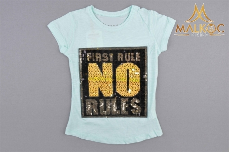 KIZ 5/8 YAŞ PULLU FIRST RULE NO RULES
